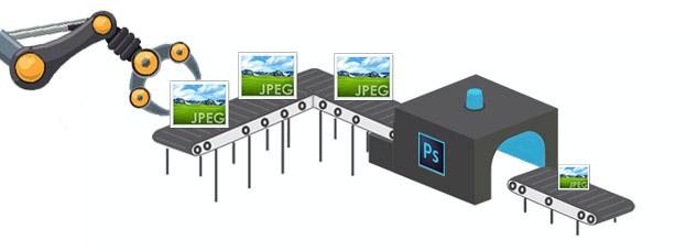 Como reduzir imagens em massa no Photoshop